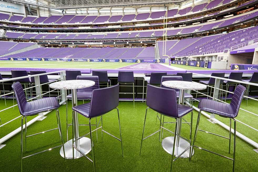 US Bank Stadium Turf Suite
