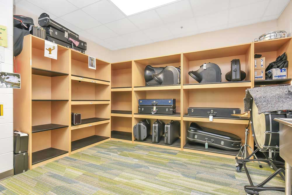 East Lake Elementary Band Storage