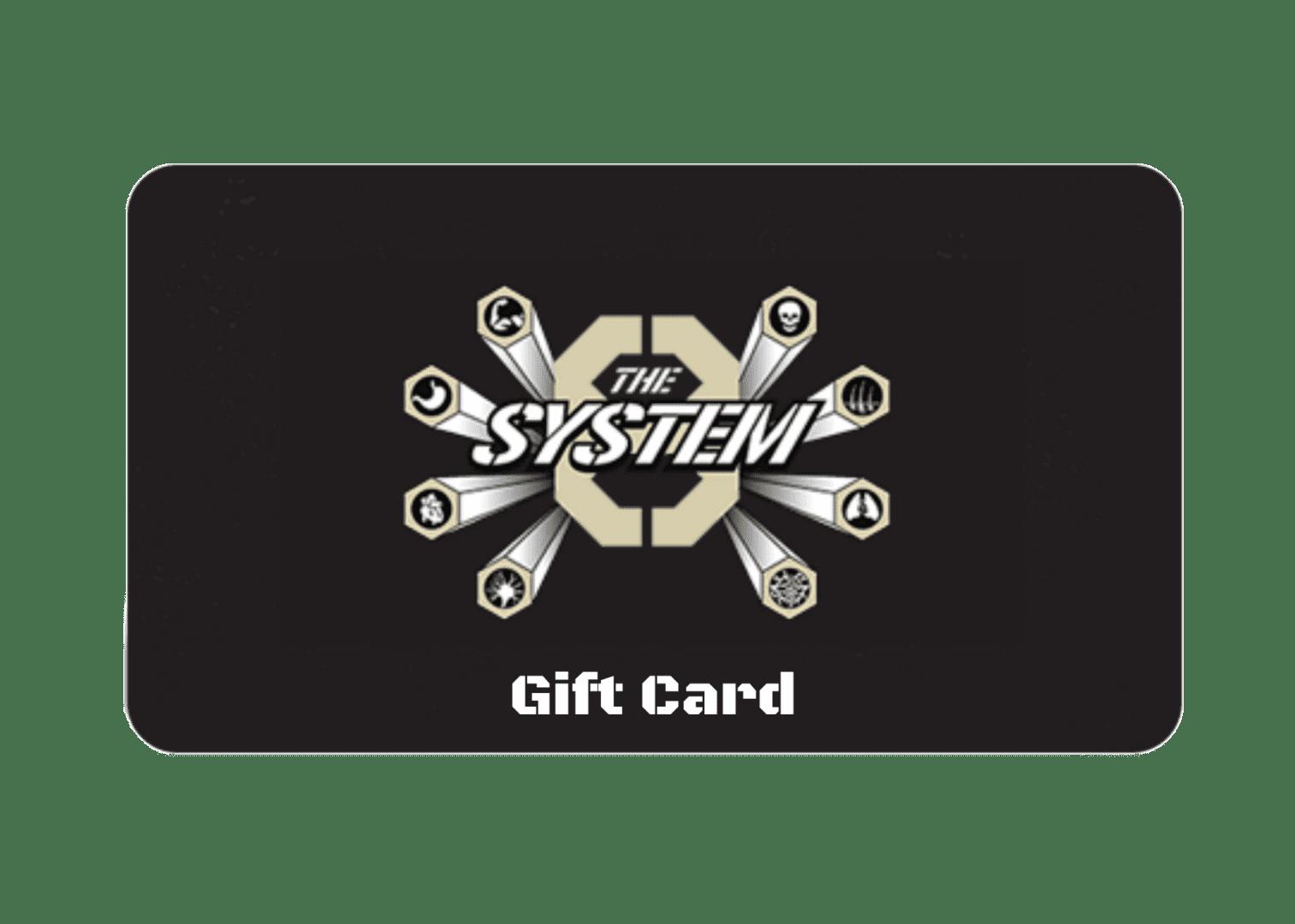 TS8 Gift Card