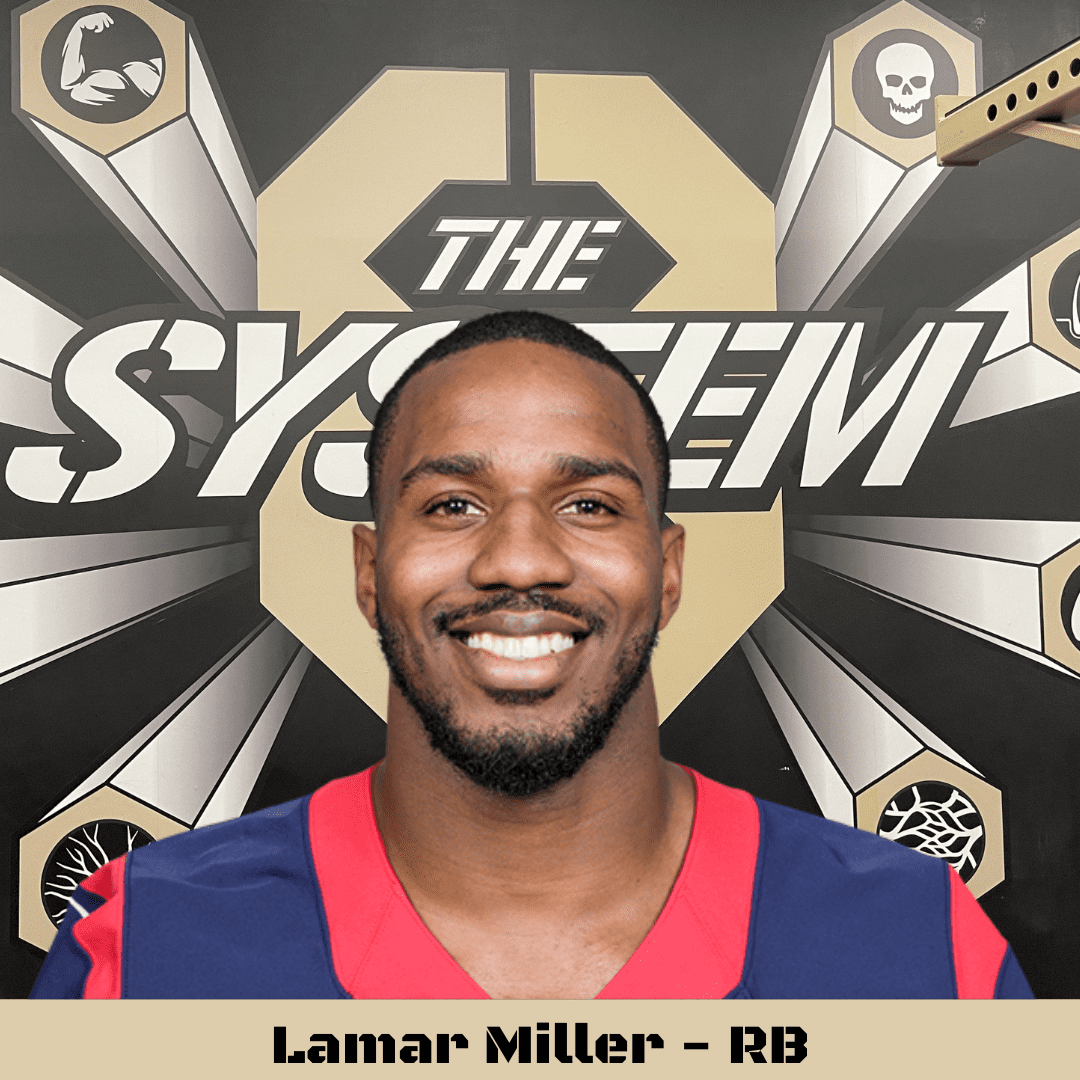 Lamar Miller, The System8