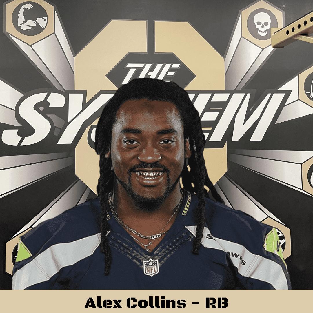 Alex Collins, The System8
