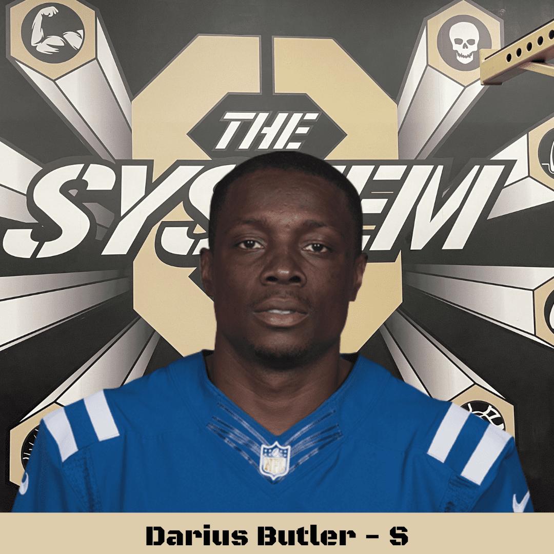 Darius Butler, The System8