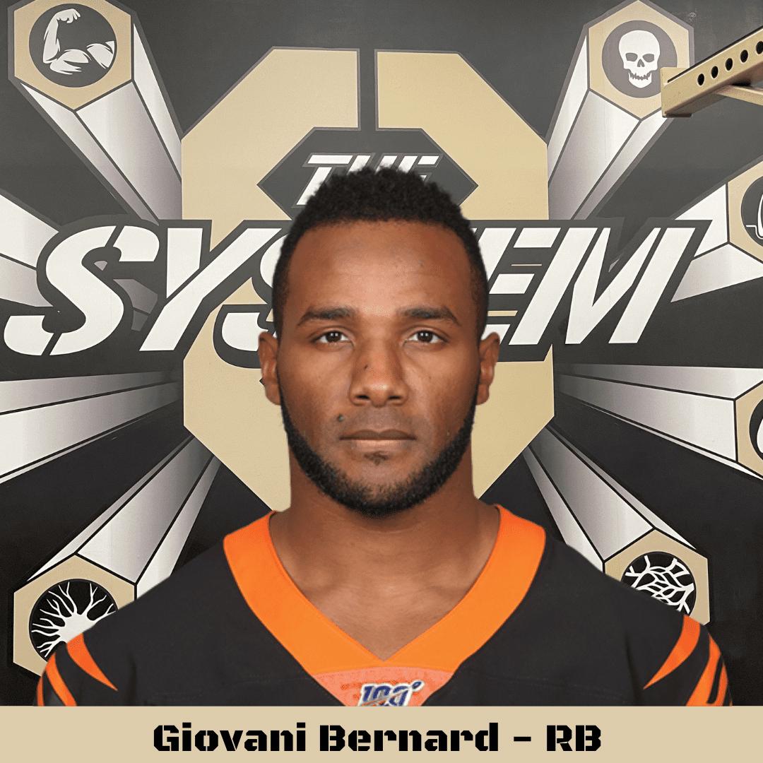 Giovani Bernard, The System8