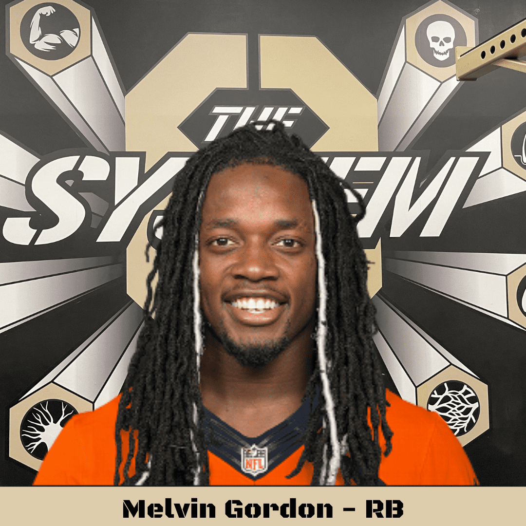 Melvin Gordon, The System8