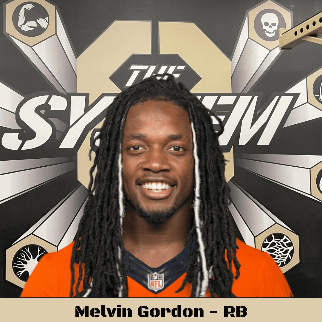 Melvin Gordon, The System8