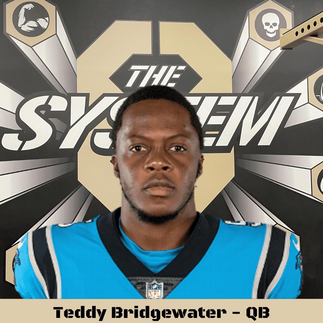 Teddy Bridgewater, the system8
