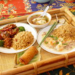 Asian Meal setting