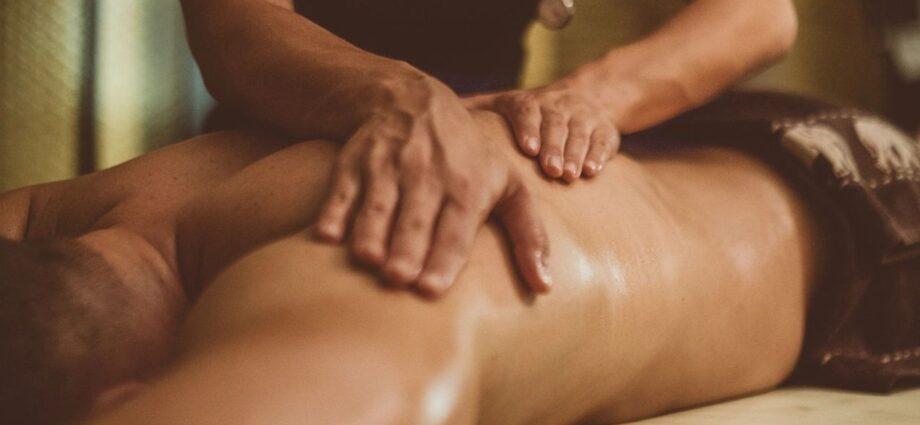 man received massage