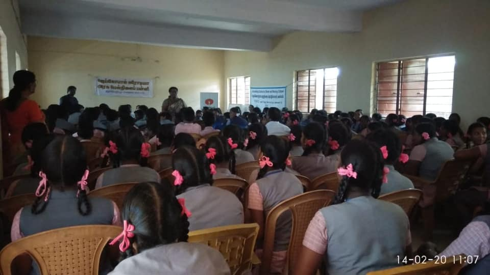 Awareness on child protection and CHILDLINE 1098