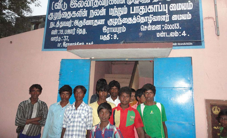 Shelter for Street Children