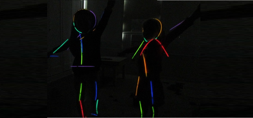 Glow in the dark activities