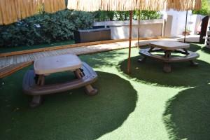 Outdoor space- center