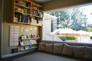 Books area