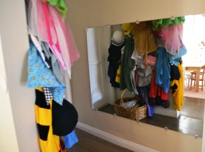Dress-up area