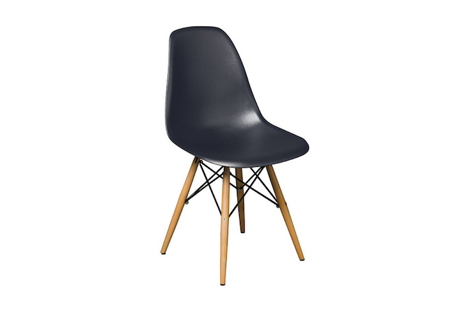 Cairo Grey Wood Leg Dining Chair Home Ingredients