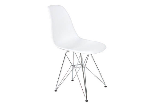 Cairo Matte White Dining Chair Home Ingredients