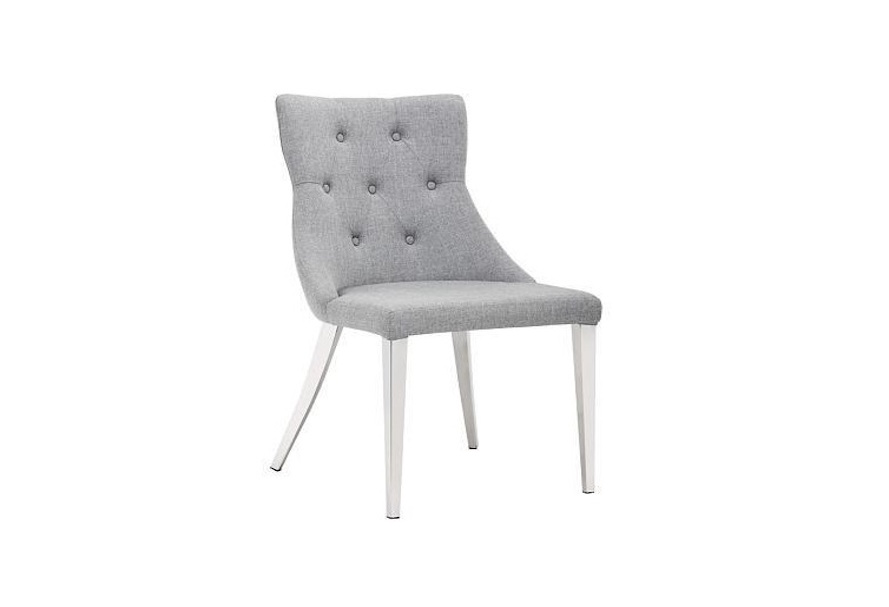 Chambers Cloud Grey Dining Chair Home Ingredients