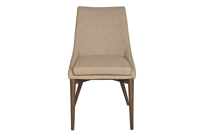 Fritz Beige Dining Chair Home Ingredients