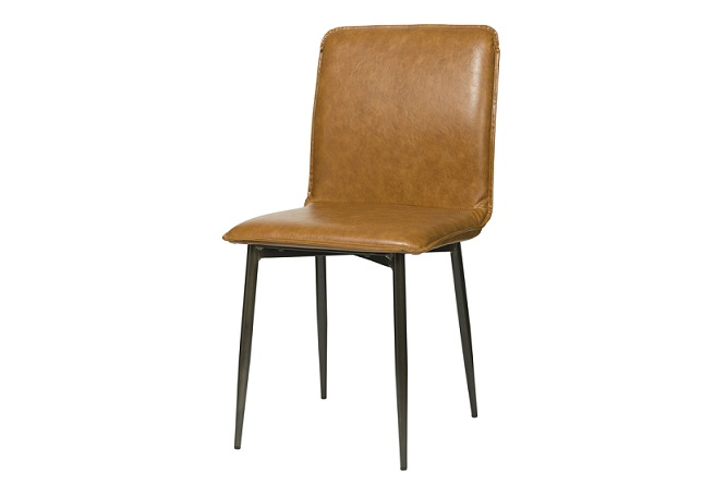 Luca Tan Brown Dining Chair Home Ingredients