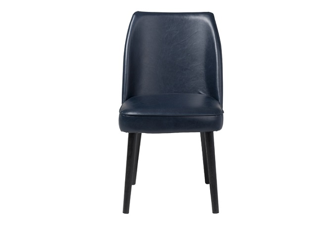 Plaza Navy Blue Dining Chair Home Ingredients