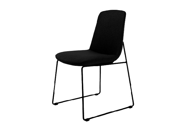 Ruth Black Dining Chair Home Ingredients