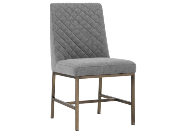 Leighland Dark Grey Dining Chair Home Ingredients
