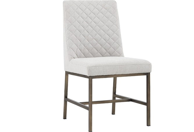 Leighland Light Grey Dining Chair Home Ingredients