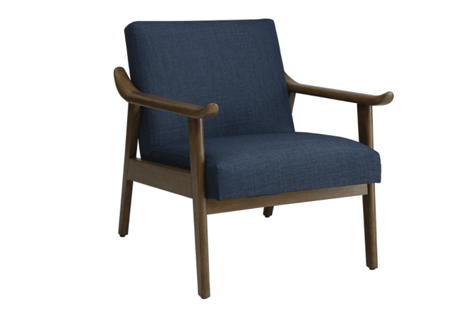 Taylor Blue Occasional Chair Home Ingredients
