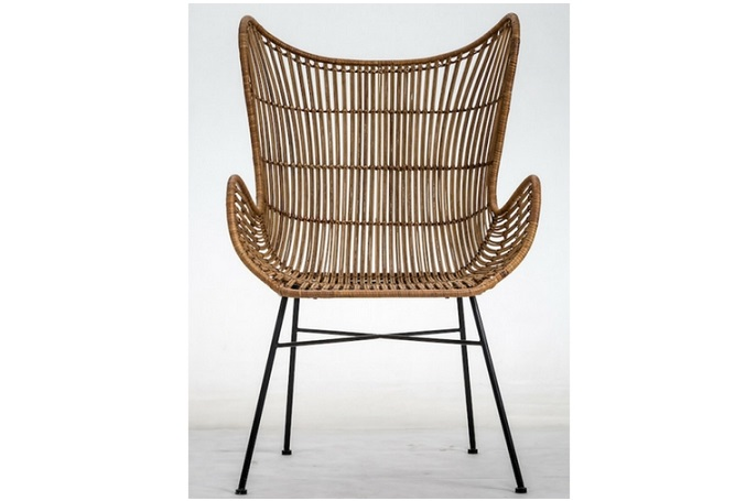 Weave Butterfly Natural Occasional Chair Home Ingredients