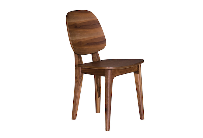 Nana Dark Walnut Dining Chair Home Ingredients