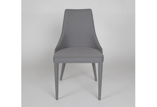 Watson Grey Linen Dining Chair Home Ingredients