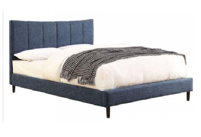 Rimo Blue Double Bed Home Ingredients