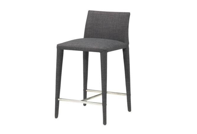 Catena Charcoal Counter Stool Furniture Rentals Home Ingredients