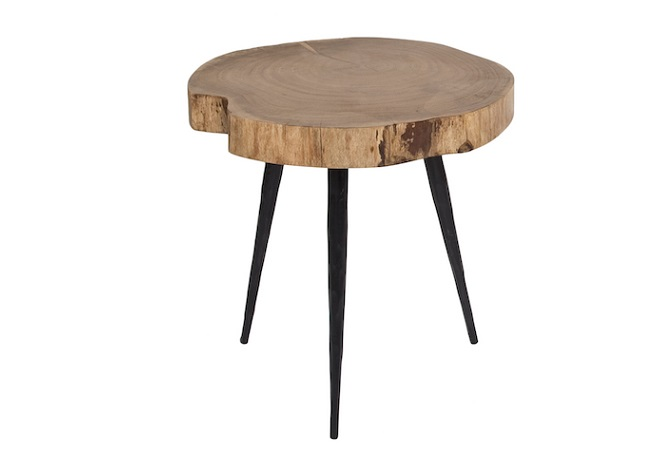 Nine Jagged Leg Short Side Table Home Ingredients
