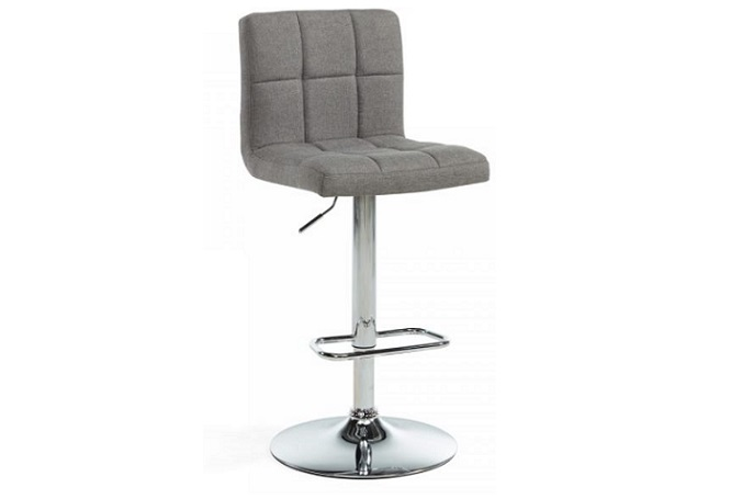Maxy Grey Counter Stool Home Ingredients