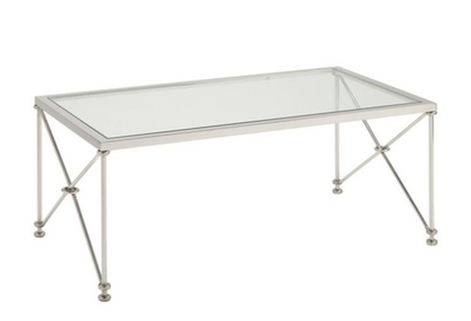 Metropolitan Rectangle Small Coffee Table Home Ingredients