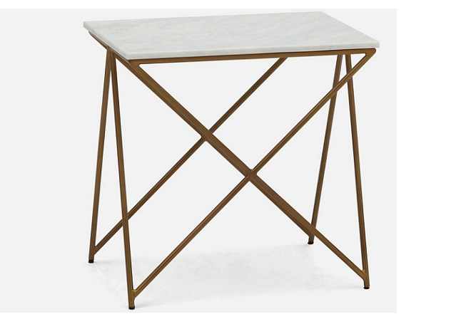 Nesta White Marble Side Table Home ingredients