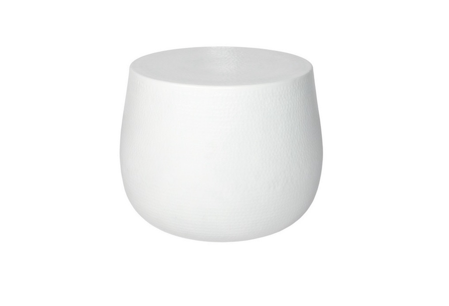 Nordic White Accent Table Home Ingredients