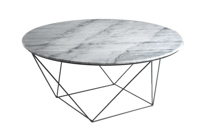 Valencia Grey Marble Coffee Table Home Ingredients