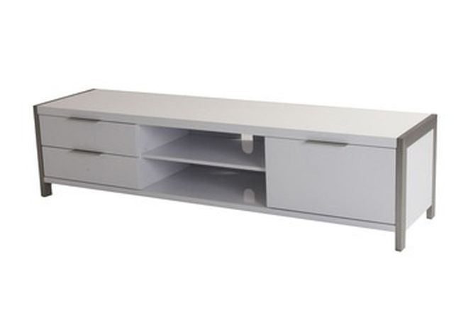 Neo Large White TV Stand Home Ingredients