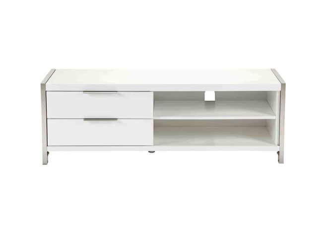Neo Small White TV Stand Home Ingredients