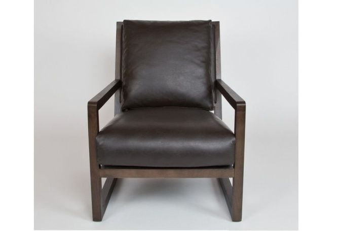 Capri Espresso Occasional Chair Home Ingredients