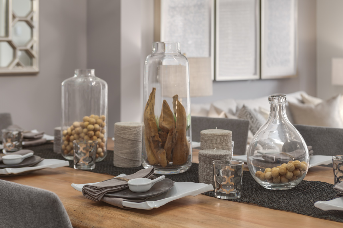 Dining Table Display Suites & Show Homes