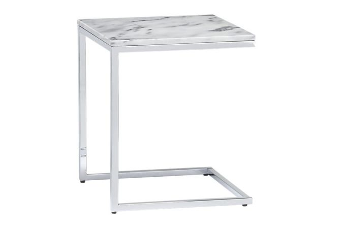 Marble C Top Side Table Home Ingredients