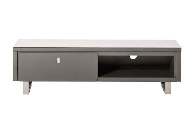 Stockholm Grey Small TV Stand Home Ingredients