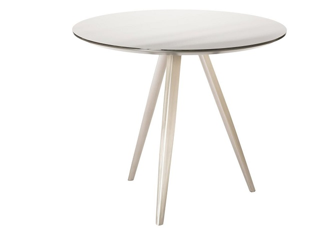 Mac Grey Small Dining Table Home Ingredients