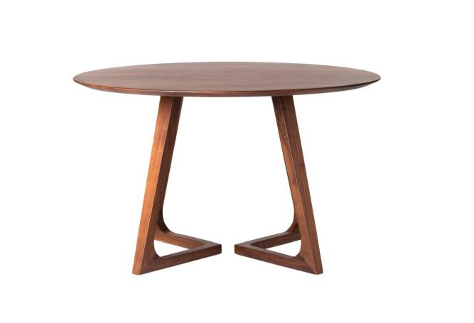 Godenza Walnut Dining Table Home Ingredients
