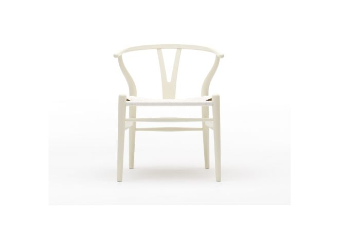Wishbone White Dining Chair Home Ingredients