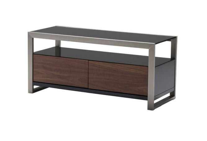 Brando Small Walnut TV Stand Home Ingredients
