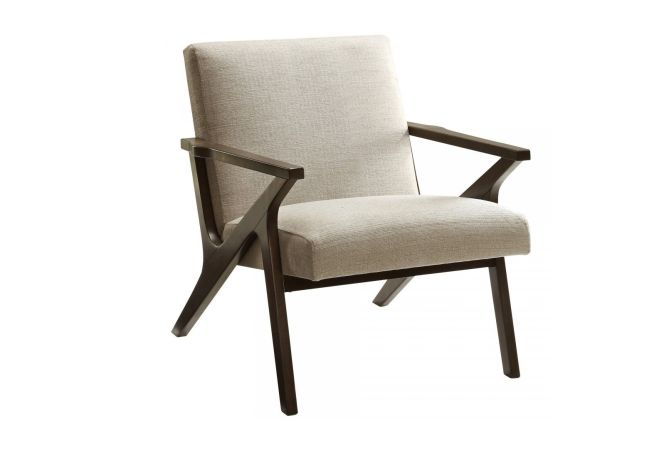 Beso Beige Occasional Chair Home Ingredients